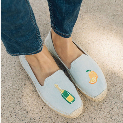 SOLUDOS - Mimosa Platform Smoking Slipper