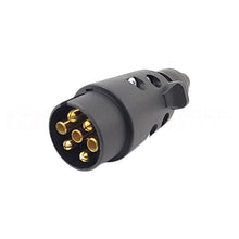 12N 7 PIN Male Plastic Plug 12 V