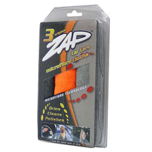 ZAP Microfiber Cleaning Cloths 3 Pieces Pack