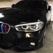 BMW M Style Grill Stripes Exact Fit