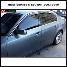 BMW Series 5 E60-E61 Wind Deflectors