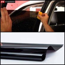 Black Window Tint Film (300 x 50 cm) DIY