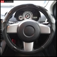 Carbon Fiber Steering Wheel Cover 38 cm