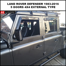 Land Rover Defender Wind Deflectors