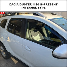 Dacia Duster Wind Deflectors