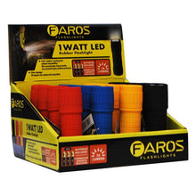 Faros Rubber Flashlight 1 Watt Led