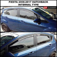 Ford Fiesta Wind Deflectors
