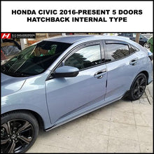 Honda Civic Wind Deflectors