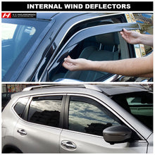 Volkswagen T-Cross Wind Deflectors