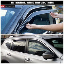 Chrysler/Jeep Cherokee KJ/Liberty Wind Deflectors