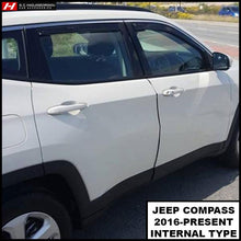 Chrysler/Jeep Compass Wind Deflectors
