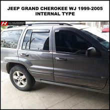 Chrysler/Jeep Grand Cherokee WJ Wind Deflectors