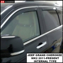 Chrysler/Jeep Grand Cherokee WK2 Wind Deflectors