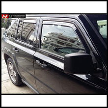 Chrysler/Jeep Patriot Wind Deflectors