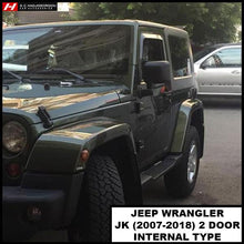 Chrysler/Jeep Wrangler Wind Deflectors