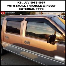Chevrolet LUV Wind Deflectors