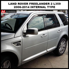 Land Rover Freelander Wind Deflectors