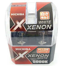 MICHIBA H1 12V 55W Diamond Vision 5000K Super White Bulbs