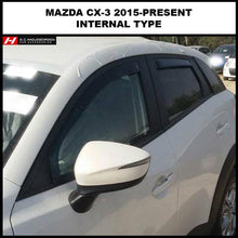 Mazda CX-3 Wind Deflectors