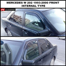 Mercedes Benz C Class Wind Deflectors