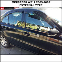 Mercedes Benz E Class Wind Deflectors