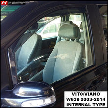 Mercedes Benz Vito/Viano Wind Deflectors