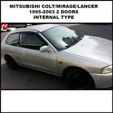 Mitsubishi Colt/Mirage/Lancer 1995-2003 3 Door Wind Deflectors