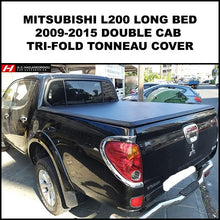 Mitsubishi L200 LONG BED BARBARIAN 2009-2015 Tri-Fold Tonneau Cover