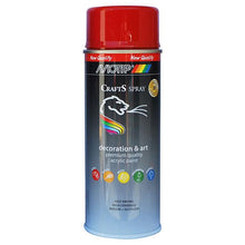 MoTip Crafts Red RAL-3002 Paint 400 ml