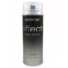 MoTip Spray Effect Clear Varnish Acrylic High Gloss 400ml