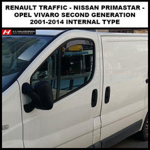 Renault Traffic Wind Deflectors