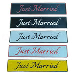 Just Married Car Aluminium License Plate