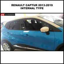 Renault Captur Wind Deflectors