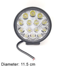 Round 14LED 9-30V 42W Lighting Lamp