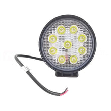 Round 9LED 12V 27W Lighting Lamp