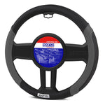 Sparco Steering Wheel Cover PU Leather Black/Grey 38 cm