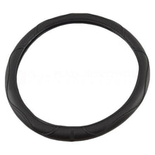 Simple Black Steering Wheel Cover 36 cm