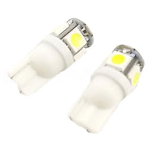 T10 12V 5LED All Wedge Bulb