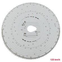 Tachograph Charts (100 Pieces)