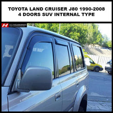 Toyota Land Cruiser - Prado Wind Deflectors