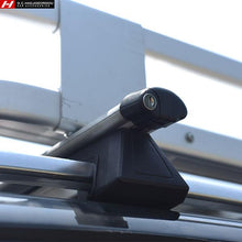 Universal Roof Bars - Fit on cars with rails
