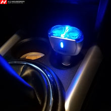 Two-Way (2 in 1) Cigarette Lighter Splitter Blue Light