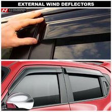 Honda Civic Hybrid Wind Deflectors