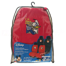 Car Seat Cushions Double Face Donald Duck-Mickey Mouse Set 2 pcs