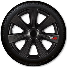 R14 Wheel Covers Carbon 14123