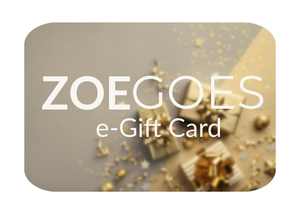 ZoeGoes Gift Card - ZoeGoes - a 1 Bag Travel Warrior company