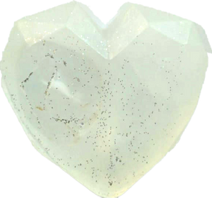 Clear Quartz Crystal Soap