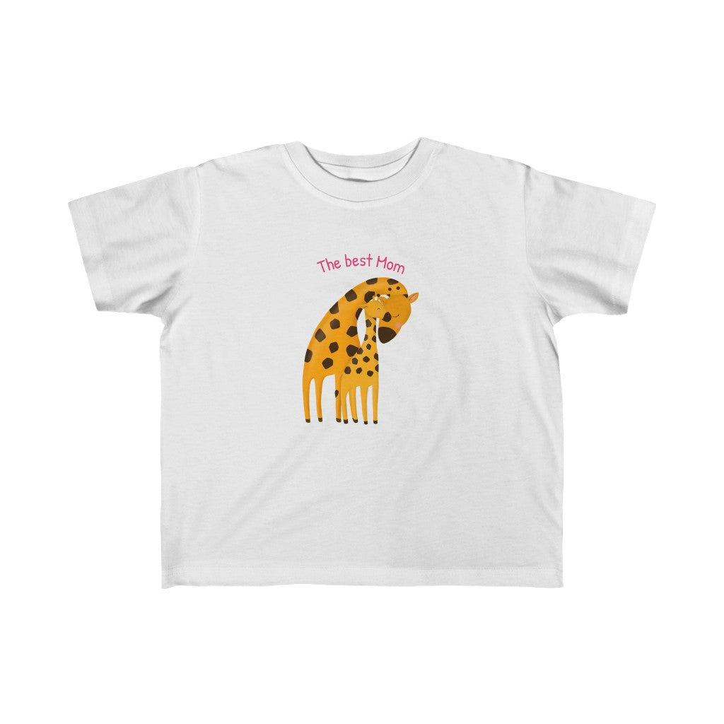 "Kid's Fine Jersey Tee ""The Best Mom"""