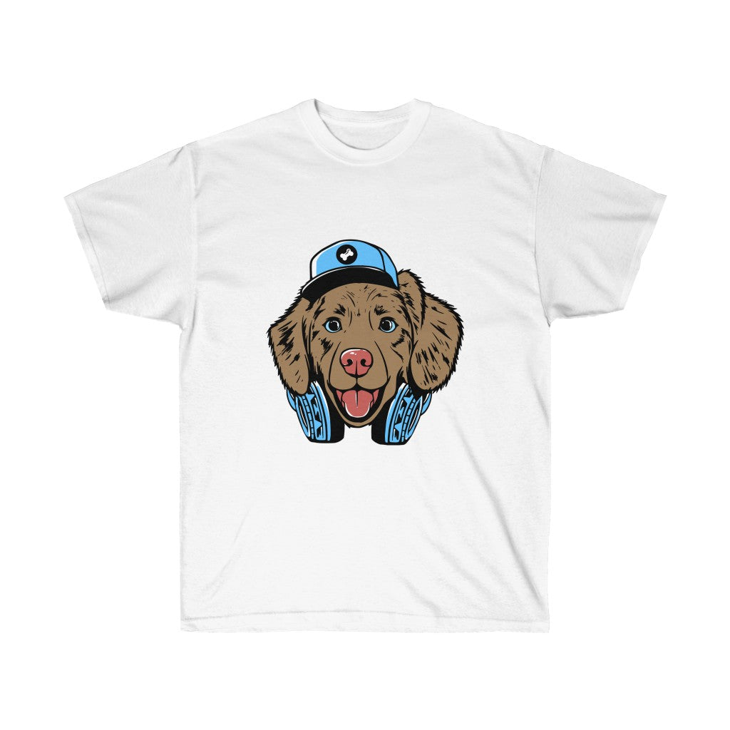 Unisex Ultra Cotton Tee Hip Dog
