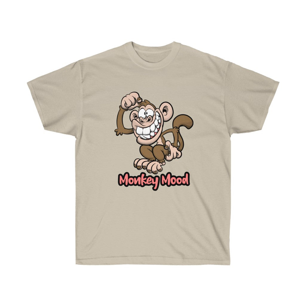 Monkey Mood - Unisex Ultra Cotton Tee